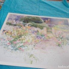 Postales: POSTAL TIPO LIBRO ,MIDE 30X24 DIBUJO DE DAWNA BARTON. Lote 79598233