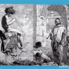 Postales: CUATRO FOTOS POSTAL DE J. R. E. DE CUADROS DE MARIANO FORTUNY DE REUS . Lote 80179209