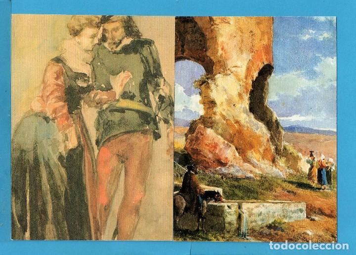 Postales: Cuatro Fotos Postal de J. R. E. de Cuadros de Mariano Fortuny de Reus - Foto 3 - 80179209