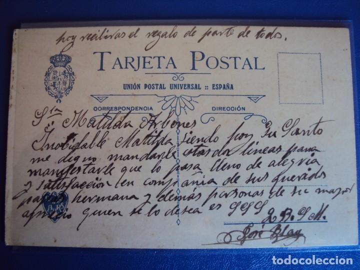 Postales: (PS-51715)DIBUJO ORIGINAL SOBRE POSTAL - Foto 3 - 83284500