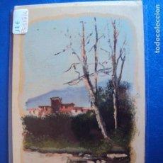 Postales: (PS-51716)DIBUJO ORIGINAL SOBRE POSTAL. Lote 83284564