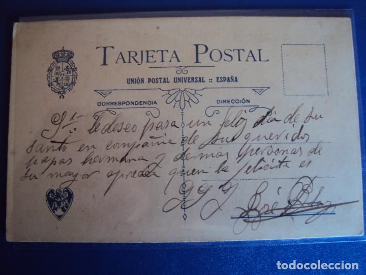Postales: (PS-51716)DIBUJO ORIGINAL SOBRE POSTAL - Foto 3 - 83284564