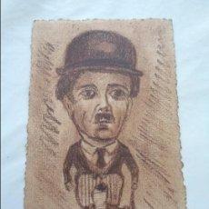 Postales: POSTAL CON BONITO DIBUJO ORIGINAL DE CHARLOT FIRMADO - AÑOS 20. Lote 83640132