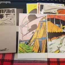 Postales: FUTURAMA SERIE COMPLETA DE 6 POSTALES 1985 MICHARMUT. Lote 87458704