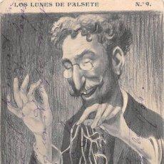 Postcards - LOS LUNES DE FALSETE Nº 9- DIBUJOS DE KARIKATO - 90501865