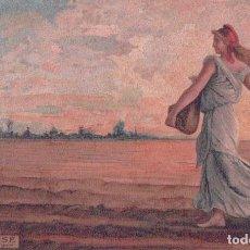 Postales: POSTAL LA SEMEUSE - ROTY - CIRCULADA 1904 - EDITEURS PARIS SERIE 833. Lote 90799780