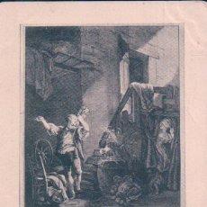 Cartes Postales: POSTAL BAUDOUIN PINX - SIMONET SCULP - LES CHEFS-D CEUVRE DE L ART- 16 SERIE - 182 - CIRCULADA. Lote 90801460
