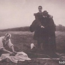 Postales: POSTAL CUADRO - LES MORTS DE 1870 - A- BETTANNIER. Lote 93927920