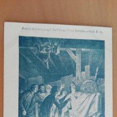 Postales: POSTAL COLECCION EL QUIJOTE B.11 DESCOMUNAL BATALLA CON LOS PELLEJOS DE VINO A. PEREZ ASENSIO MADRID. Lote 100034911