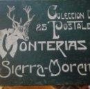 Postales: LIBRO 15 POSTALES MONTERIAS SIERRA MORENA. Lote 105458152