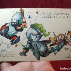Postales: POSTAL ILUSTRADA. ILUSTRADOR COZZI. EDAD MEDIA. EDIT GRAFIDEA S L--1944.. Lote 105720363