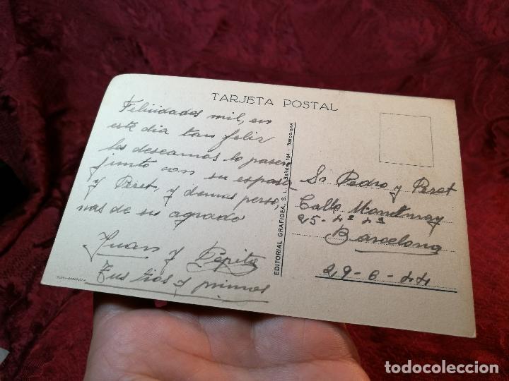 Postales: POSTAL ILUSTRADA. ILUSTRADOR COZZI. EDAD MEDIA. EDIT GRAFIDEA S L--1944. - Foto 2 - 105720363