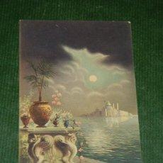 Postales: ANTIGUA POSTAL ITALIANA FOTOCELERA - VENECIA - ESCRITA EN 1921. Lote 109208271