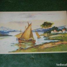 Postales: POSTAL ANTIGUA - PAISAJE COSTERO - EDICIONES CMB SERIE 63 - NO ESCRITA. Lote 109337959