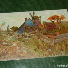 Postales: POSTAL ANTIGUA - PAISAJE HOLANDES - NO ESCRITA 1910-1920. Lote 109338131
