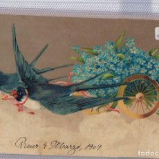 Postcards - `MUY RARA postal en relieve CIRCULADA REUS 1909 - 109754023