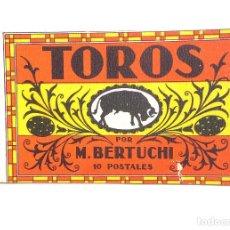 Postales: 10 POSTALES CORRIDA DE TOROS - ILUSTRADOR M. BERTUCHI. Lote 116492191
