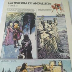 Postales: ANTIGUA POSTAL LA HISTORIA DE ANDALUCIA TOMOII ANTEQUERA Y GRANADA CADIZCOMIC.VER FOTOS. Lote 117706576