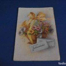 Postales: POSTAL CIRCULADA - FELICITACION - CYZ 536. Lote 118552147