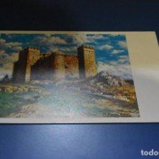 Postales: POSTAL SIN CIRCULAR - CASTILLO DE CORTEGANA Nº102 - PINTADO POR M. PARREÑO - EDITA ARTIS MUTI. Lote 118725267