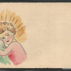Postales: POSTAL ANTIGUA - DIBUJO ORIGINAL A MANO - VER FOTOS - (52.602). Lote 119124743