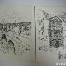 Cartes Postales: POSTALES COLECCION DE 9 POSTALES DE ALBUN DE PROVINCIAS (#). Lote 119265831