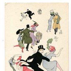 Postales: POSTAL ILUSTRADA XAVIER SAGER B.G. PARIS 564. SIN CIRCULAR. Lote 122139527