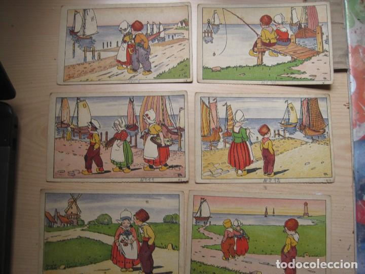 SEIS POSTALES ILUSTRADAS ( HOLANDESAS) (Postales - Postales Temáticas - Dibujos originales y Grabados)
