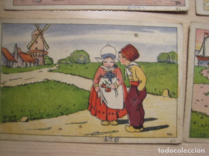 Postales: SEIS POSTALES ILUSTRADAS ( HOLANDESAS) - Foto 2 - 208184380