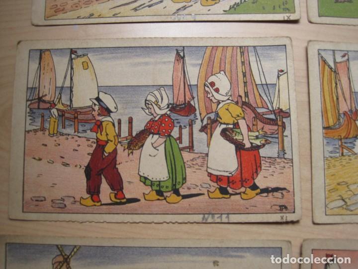 Postales: SEIS POSTALES ILUSTRADAS ( HOLANDESAS) - Foto 3 - 208184380