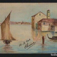 Postales: POSTÁL ILUSTRADA A MANO.FIRMADA. CHANO.1903.. Lote 124549467
