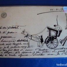 Postales: (PS-57119)POSTAL CON DIBUJO-ARCHIVO VARONES OLLER. Lote 125079707
