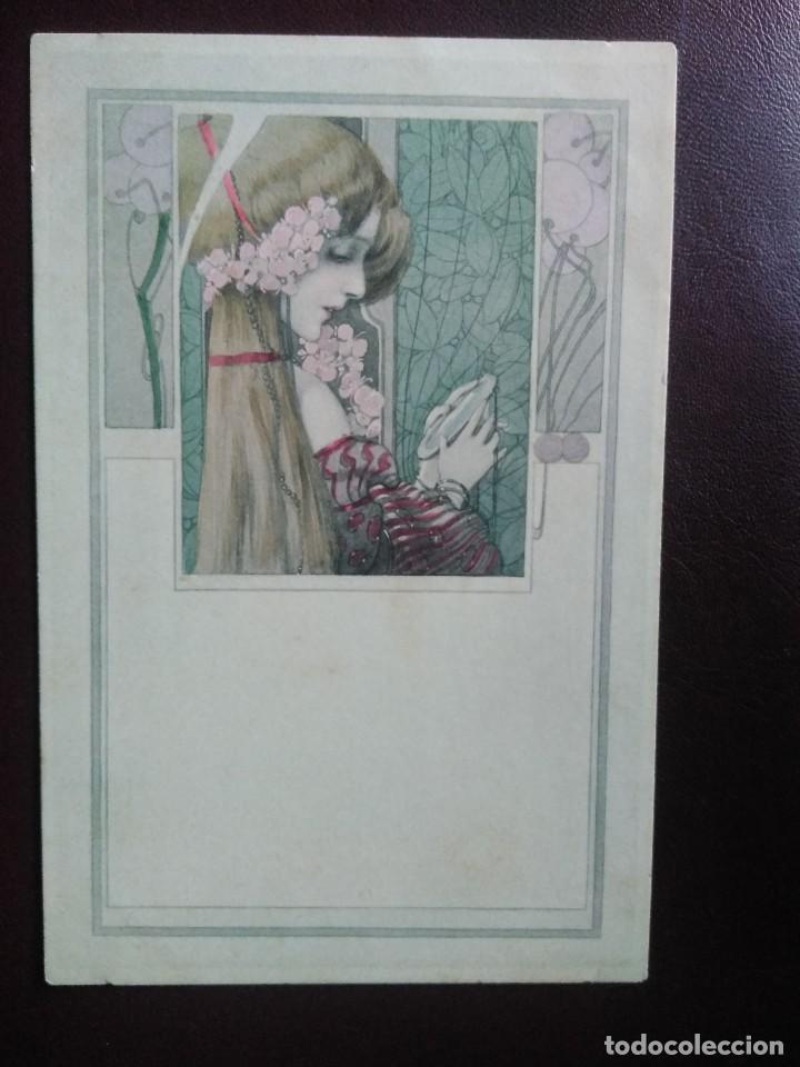 M.M. VIENNE. NR 127. SIN DIVIDIR. SIN CIRCULAR. (Postales - Postales Temáticas - Dibujos originales y Grabados)