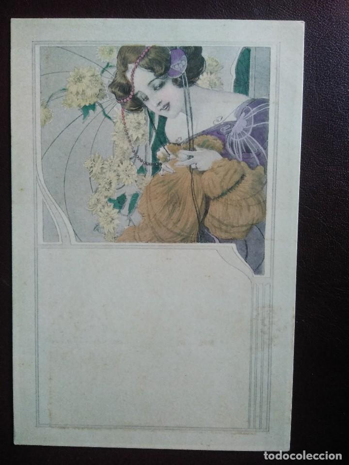 M.M VIENNE. NR 127. SIN DIVIDIR. SIN CIRCULAR. (Postales - Postales Temáticas - Dibujos originales y Grabados)