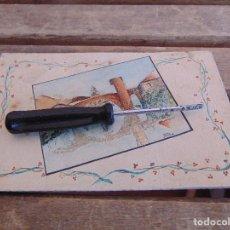 Postales: TARJETA POSTAL PINTADA MANO FELICITACION POR DIA DE SAN JOSE. Lote 129015463