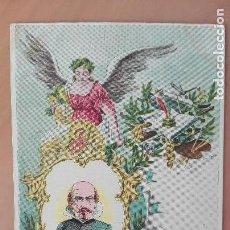 Postales: POSTAL SERIE LITERATOS LITERATURA ROJAS Y ZORILLA EDIC CALLEJA MADRID SIN DIVIDIR PERFECTA CONSERVAC. Lote 134497274