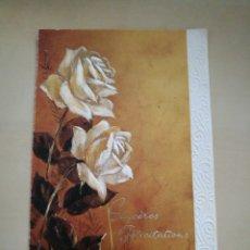 Postales: POSTAL DESDE FRANCIA ESCRITA AÑOS 60/70. Lote 135015413