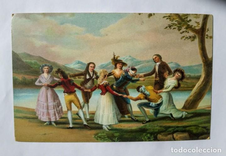 DON FRANCISCO DE GOYA Y LUCIENTES BLINDEKUH (Postales - Postales Temáticas - Dibujos originales y Grabados)