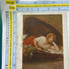 Postales: POSTAL DEL SIGLO XIX - 1905. SERIE BLANCO Y NEGRO MADRID B8. CREACIONES FEMENINAS MARIANELA. 564. Lote 138724278