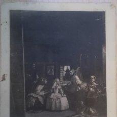 Postales: ANTIGUA POSTAL LAS MENINAS (VELAZQUEZ), DE HAUSER Y MENET - MADRID. Lote 140288166