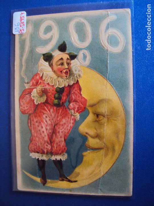 (PS-58954)POSTAL AÑO 1906 PAYASO (Postales - Postales Temáticas - Dibujos originales y Grabados)