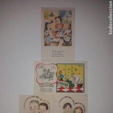 Postales: 4 TARJETAS POSTALES FENIX AÑOS 50.. Lote 142058561