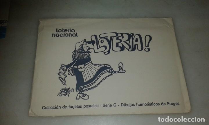 POSTALES FORGES COLECCIÓN COMPLETA (Postales - Postales Temáticas - Dibujos originales y Grabados)