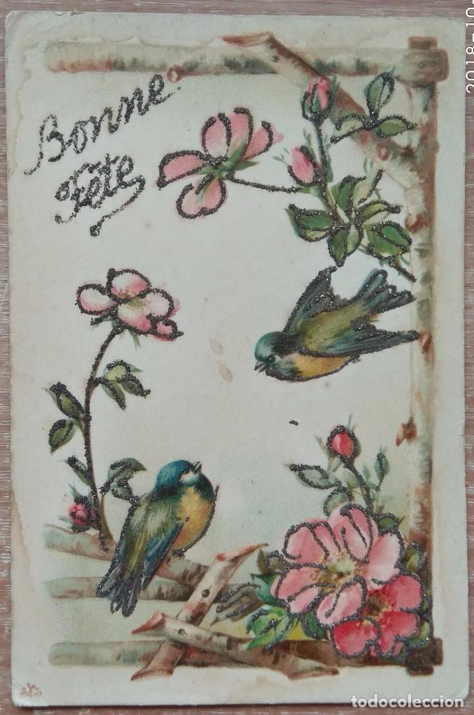 POSTAL DE 1909 (Postales - Postales Temáticas - Dibujos originales y Grabados)