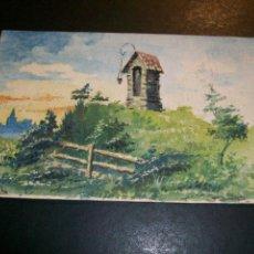 Postales: POSTAL PINTADA A MANO HUMILLADERO EN EL CAMPO HACIA 1915. Lote 147007466