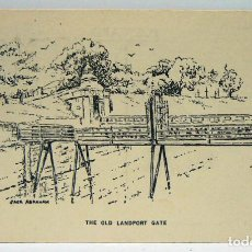 Postales: THE OLD LANDPORT GATE - JACK ABRAHAM. Lote 147362834