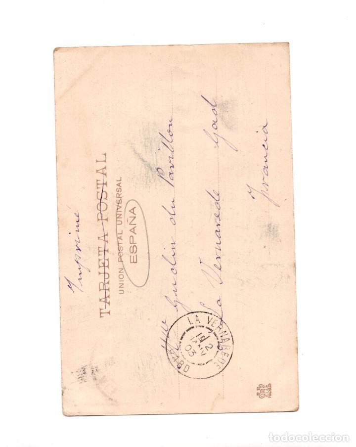 Postales: EL CONSEJERO DE BARRIO – BLANCO Y NEGRO REVISTA ILUSTRADA - Foto 2 - 148439450