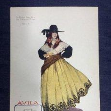 Postales: TARJETA POSTAL Nº 6 A COLOR LA MUJER ESPAÑOLA POR FEDEICO RIBAS ÁVILA . Lote 153017006