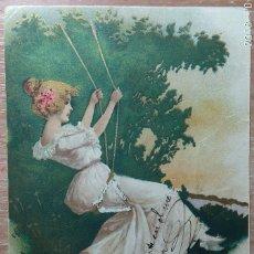 Postales: POSTAL DE 1906. Lote 153819210