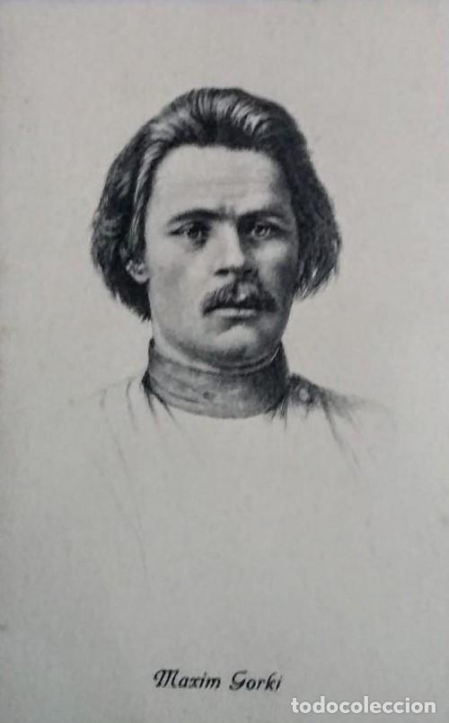 Maxim Gorki. Postal antigua. - 140770886